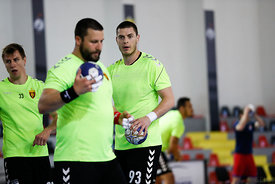 Dejan Kukulovski during the Final Tournament - Semi final match - Vardar vs Meshkov Brest - Final Four - SEHA - Gazprom leagu...