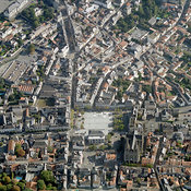 City center, Cholet