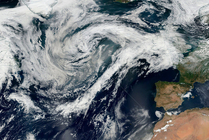 Hurricane Gert Remnants To Bring Hot Weather But Heavy Rain For Scotland
