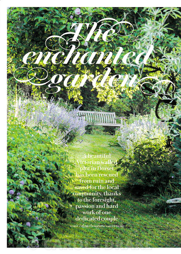Littlebredy Walled Garden, Country Living, June 2014