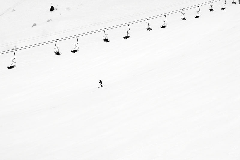 Lonely Skier