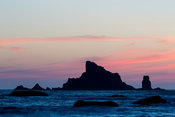 Sunset From Rialto Beach