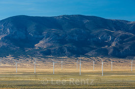 Wind Farm along Lonely US 50 in Nevada