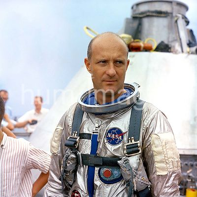 (23 Aug. 1965) --- Astronaut Thomas P. Stafford, Gemini-6 prime crew pilot, is pictured onboard the NASA Motor Vessel Retriev...