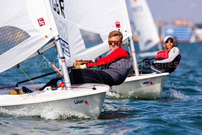 Lasers in Zhik Poole Week 2018