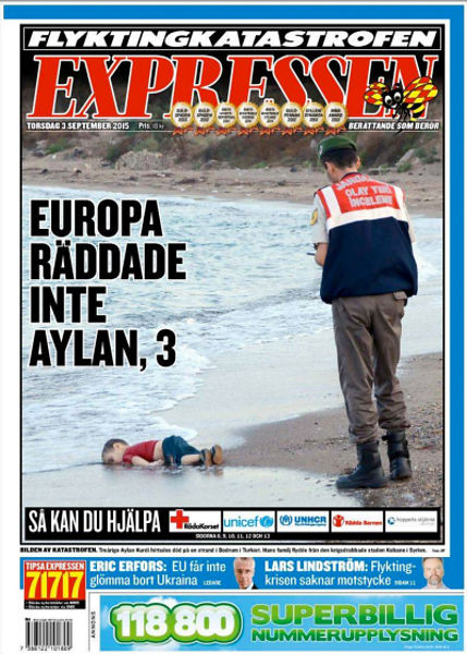 drowned-migrant-boy-expressen-front-page