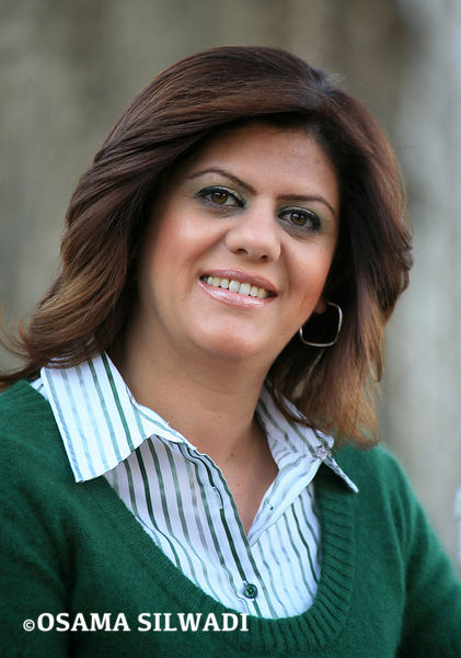 Shireen Abu Aqleh - Al Jazeera Satellite Channel Correspondent