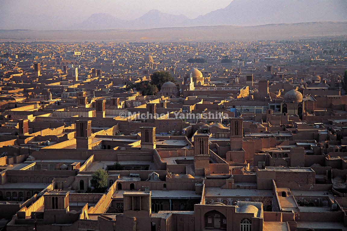 Yazd bristles with dozens of Towers of the Wind.