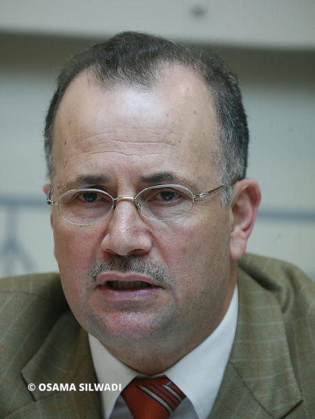 The chairman of the Palestine Investment Fund, Mohammad Mustafa