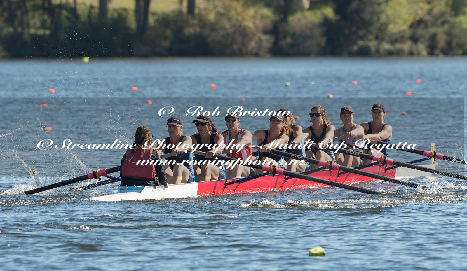 Taken during the World Masters Games - Rowing, Lake Karapiro, Cambridge, New Zealand; ©  Rob Bristow; Frame 3750 - Taken on: ...