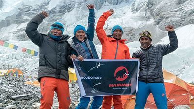 Mammut / #project360 Everest