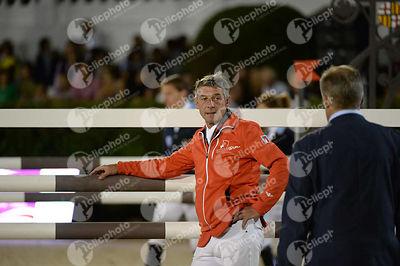 during Furusiyya FEI Nations Cup Jumping Final competition at CSIO5* Barcelona at Real Club de Polo, Barcelona - Spain