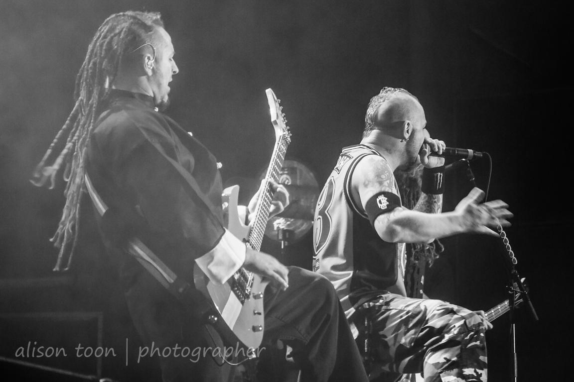 Ivan Moody and Zoltan Bathory, Five Finger Death Punch, Aftershock 2013