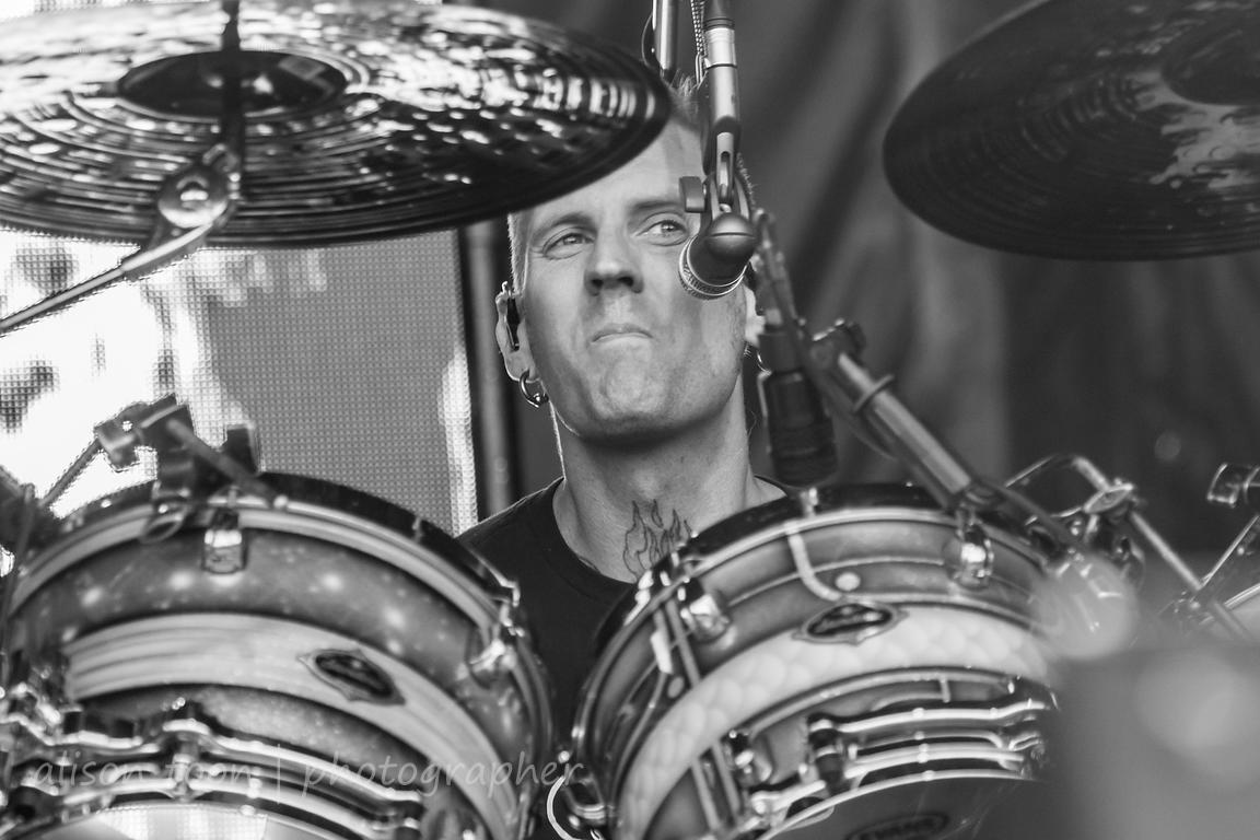 Brann Dailor, drums and vocals, Mastodon