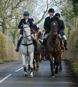 The Cottesmore Hunt at Knossington 14/2