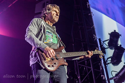 Pete Trewavas, bass, Marillion, Anoraknophobia evening, PZ, 2015