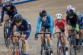 Cat 1 Women Points Race. Track Ontario Cup #2, January 13, 2019