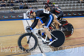Cat 3-4 Men Keirin 7-12 Final. Track Ontario Cup #2, January 13, 2019