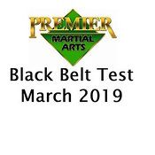 PMA Black Belt Test photos