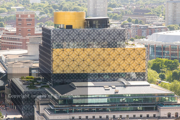The Library of Birmingham, England
