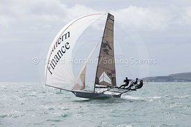 18ft Skiff European Grand Prix, Sandbanks, 20160904575