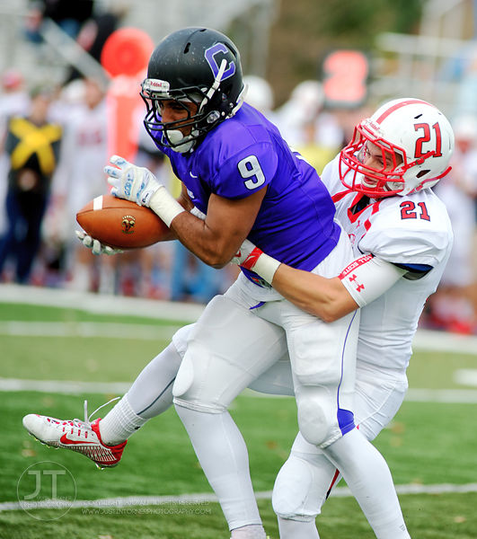 Gazette - D3FB Cornell vs Monmouth, October 24, 2015