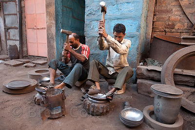 Blacksmith shop, Jodhpur, Rajasthan, India