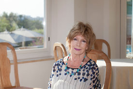 Edna O'Brien at Le Conversazioni in Capri, Italy
