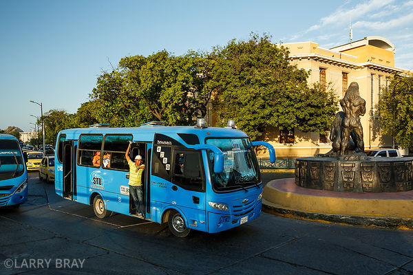 Bus, Santa Marta, Colombia, South America