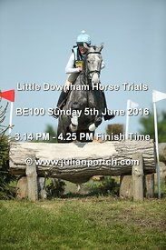 Little Downham BE100 (5th June 2016) Finish Time (15-14 to 16-25)