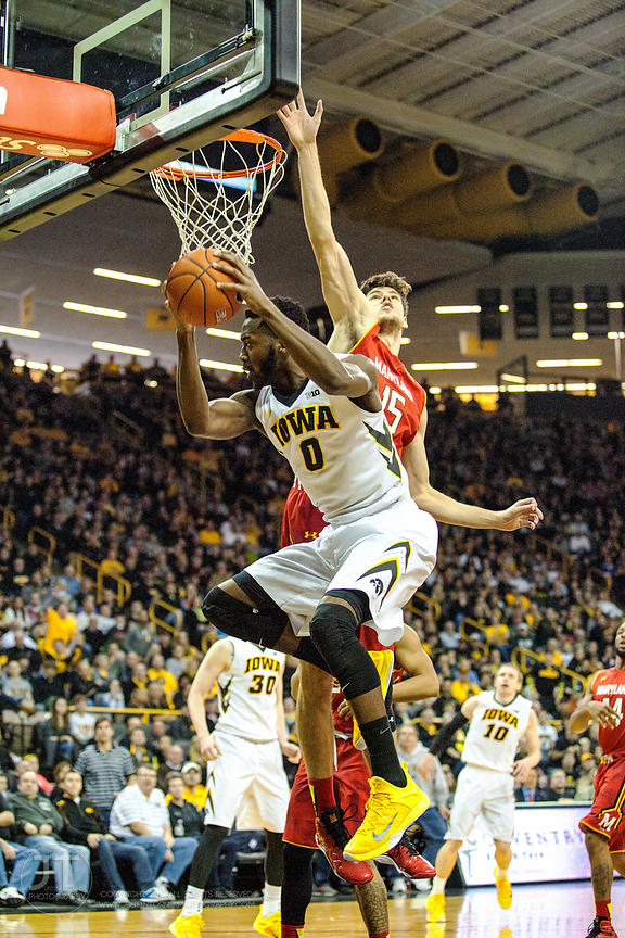 P-C - Men's Basketball, Iowa vs Maryland, February 8, 2015