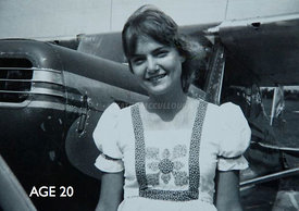 34_Kathy_and_her_Cessna_140