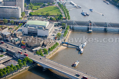 Royal Festival Hall and Purcell Room, London