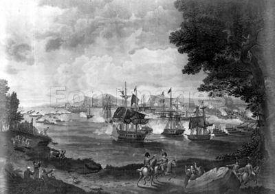 Macdonough's victory on Lake Champlain during War of 1812