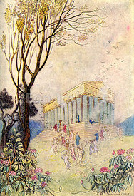 Parliament of Birds by Warwick Goble