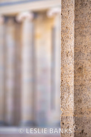Column Detail at Philadelphia Museum of Art