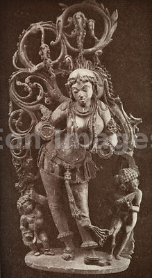 Statue of Parvati, wife of Shiva