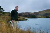 SIMON HUMPHRIES, NATURAL ENGLAND NEXT TO WET SLEDDALE RESERVOIR