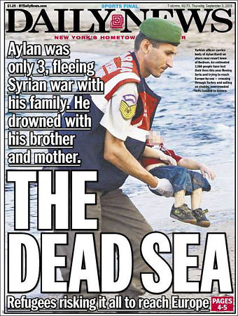 drowned-migrant-boy-daily-news-front-page