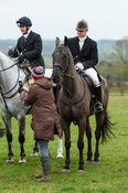 Harry Wallace At the meet. The Cottesmore Hunt at Bleak House 18/12