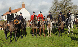 The Belvoir Hunt masters