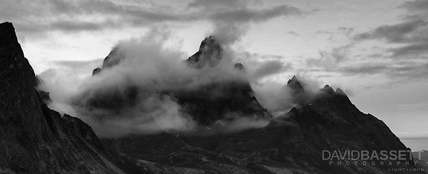 Storm over Tombstone Mountain | Tombstone Territorial Park, Yukon