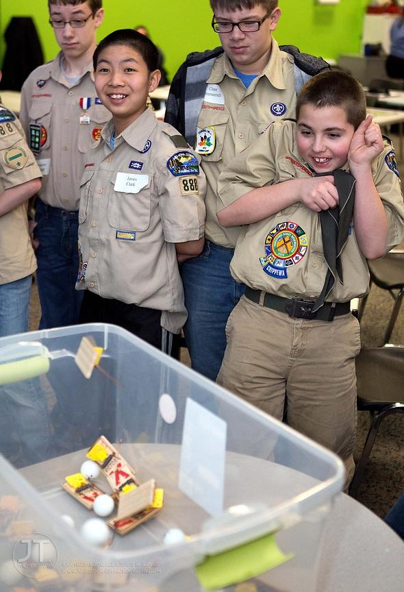 Nuclear Science Merit Badge Camp, February 15, 2014
