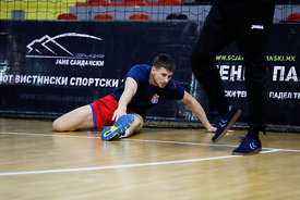 during the Final Tournament - Semi final match - Vardar vs Meshkov Brest - Final Four - SEHA - Gazprom league, Skopje, 13.04...