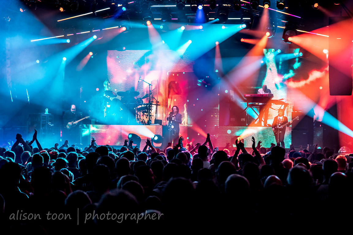 Port Zelande, The Netherlands, 24 March 2019: Marillion performing on the final night of the PZ weekend 2019.