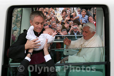 Visit of Pope Benedict XVI in Lourdes