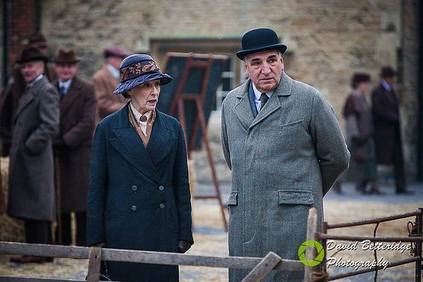 Downton Abbey Filming in Lacock March 2015