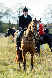 David Applewhite near Denton. The Belvoir Hunt at the Kennels 13/11