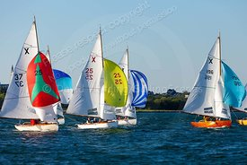 X One Designs, Parkstone Yacht Club Monday night racing, 20180514031