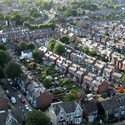 Residential Area Adjacent To Hillsborough Park, Sheffield